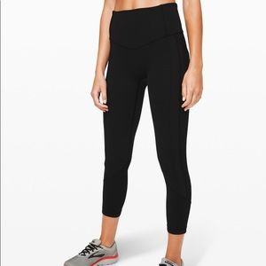 Lululemon all the right places- pocket leggings
